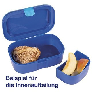 Lunch-Box: Sei behütet - Blau