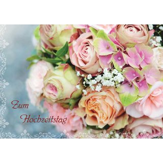 Zum Hochzeitstag Faltkarte Ihremedien 1 80