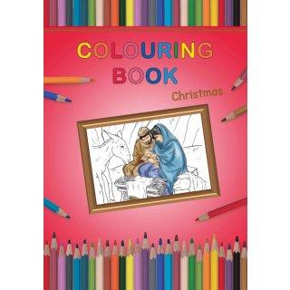 Colouring Book Christmas Malheft Weihnachten 150